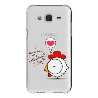 AFTERSHOCK TPU เคส Samsung Galaxy J7 2015 เคสโทรศัพท์พิมพ์ลาย Valentine's 5 เนื้อบาง 0.33 mm