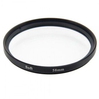 Harga 58mm Digital Camera Lens Soft Filter / Soft-focus Filter / Hazy Filter