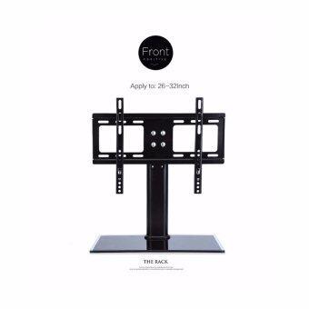 ชั้นวางทีวีแบบขาตั้ง สำหรับยึดทีวีจอ LCD LED จอพลาสม่า ขนาด 420x300 มิลลิเมตร รองรับ TV ขนาด 26-32 นิ้ว