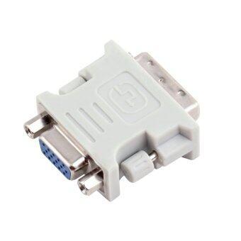 OH DVI DVI-I Male 24+5 Pin to VGA Female Video Converter Adapter
