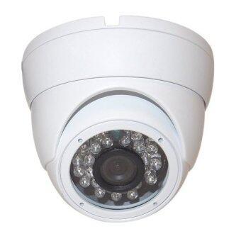 Mastersat กล้องวงจรปิด CCTV Dome IP camera 2 MP 1080P 15V. ระบบ POE เดินสายแลนอย่างเดียว ใช้ได้ไกล 100 เมตร