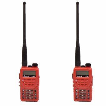 ICHITSU วิทยุสื่อสาร RW245 อุปกรณ์ครบชุด ป้องกันน้ำเข้า IP66 5 watts ถูกกฏหมาย แพ็คคู่ 2 ตัว