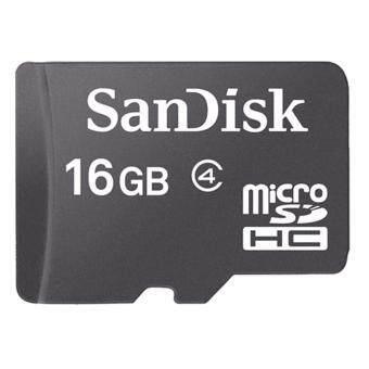 SANDISK MICRO SD CARD 16 GB.