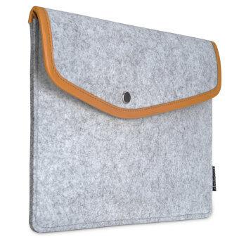 dodocool 9.7นิ้วแขนเสื้อคลุมแท็บเล็ตรู้สึกหวงแหนถือซองเคสกระเป๋าสำหรับ Apple 9.7นิ้ว iPad Pro/iPad Air 2/1 (สีเทา)