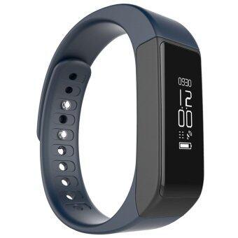 smile C นาฬิกาสุขภาพอัจฉริยะ ติดตามกิจกรรม Bluetooth Smart Wristband Watch รุ่น I5 Plus Activity Tracker (Blue)