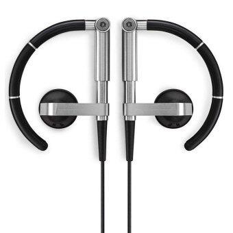 B & O A8 หูฟังชนิดใส่ในหู Earhook Metal HiFi หูฟังแบบสเตอริโอหูฟัง Bluetooth (สีดำ) - intl