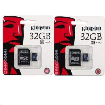 Kingston anny Kingston Memory Card Micro SD SDHC 32 GB Class 10 คิงส์ตัน เมมโมรี่การ์ด 32 GB รุ่น แพ็ค2ชิ้น