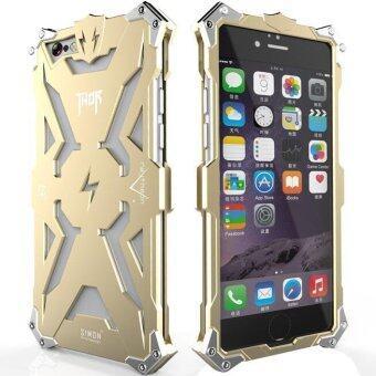 โทรศัพท์อลูมิเนียม Thor Series บินเคสโลหะสำหรับ Apple iPhone 5/5s Plus (ทอง)