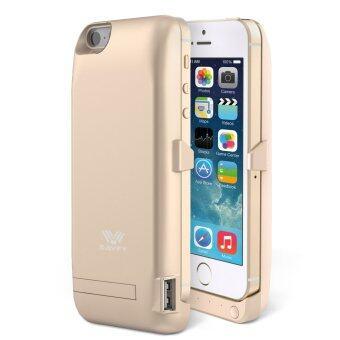 SAVFY เคสแบตสำรอง แบตเตอรี่เพาเวอร์แพ็ค iPhone 5/5S/SE-4200mAh (สีทอง)