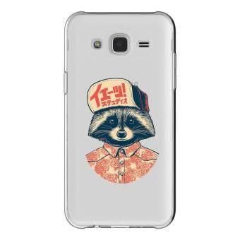 HugCase TPU เคส Samsung Galaxy Grand 2 เคสโทรศัพท์พิมพ์ลาย Fox เนื้อบาง 0.3 mm