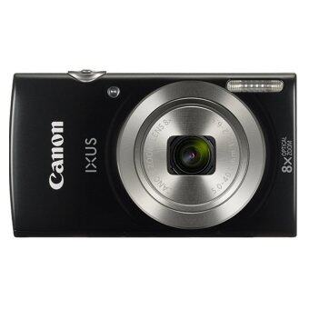 สินค้ายอดนิยม Canon กล้องดิจิทัล รุ่น IXUS 185 (สีดำ) + SD Card 8 GB + Bag ขายถูก