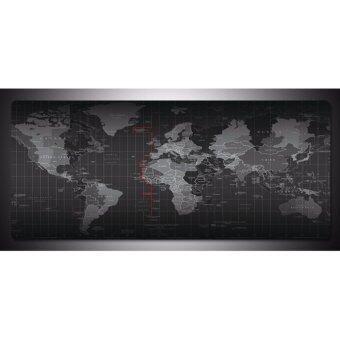 Sharkoon แผ่นรองเมาส์ขนาด 80x40 ซม. ลาย World Map