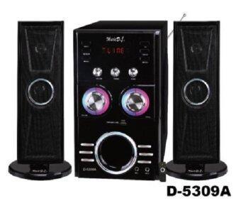 Music D.J. (D5309A) + FM,USB ลำโพง ประกันศูนย์