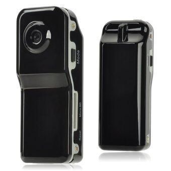 ช่องเก็บบัตร TF กล้องวีดีโอ 300K พิกเซลขนาดเล็กสีดำ