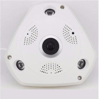 360 degrees VR 3D wireless WiFi HD network camera wide-angle fisheye indoor surveillance panoramic camera - intl
