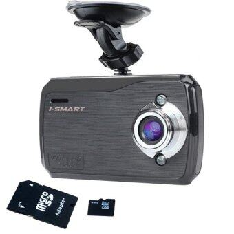 I-Smart Red Hot 2016 Car Camcorder กล้องติดรถ พร้อม Memory Card 32 GB รุ่น K7000 (สีดำ)