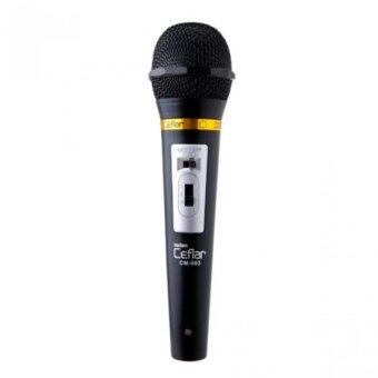 Ceflar Microphone ไมค์โครโฟน รุ่น CM-003 - (สีดำ)