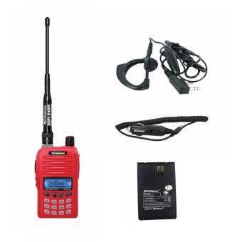 Spender วิทยุสื่อสาร อุปกรณ์ครบชุด Hero X5 +ที่ชาร์จไฟในรถ +ไมค์หูฟัง +แบตเตอรี่แท้ 1 ก้อน