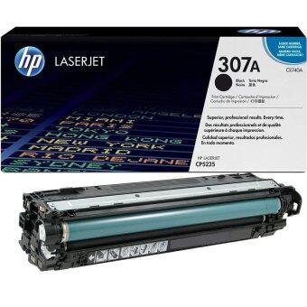 HP 307A (CE740A) Black ใช้กับเครื่องรุ่น LaserJet CP5225dn,CP5225n หมึกสีแท้ รับประกันศูนย์