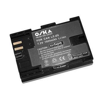 Oska แบตกล้อง Canon LP-E6 (Black)