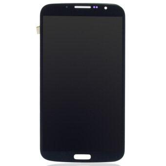 จอภาพแสดงผลจอ lcd ชุดสำหรับ Samsung Galaxy Mega 6.3 i9200 i9205 สีดำ-