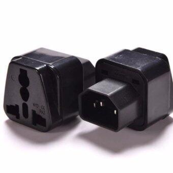 UPS ADAPTER UPS/หัวแปลง ปลั๊กups IEC to 3 PIN ปลั๊กAPC หัวแปลงปลั๊ก IEC320 สำหรับคอมพิวเตอร์ UPS หรืออุปกรณ์อื่น ๆ แบบ High Grade