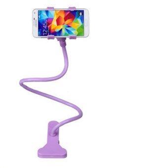 ขาจับมือถือ ที่หนีบสมาร์โฟน แท่นวางไอโฟน แบบตั้งโต๊ะ - Purple