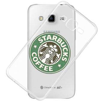 AFTERSHOCK TPU Case Samsung Galaxy J2 2016 (เคสใสพิมพ์ลาย Starbucks ) / Thin 0.33 mm