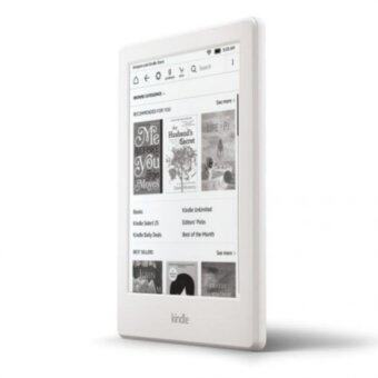 "Harga Kindle All-New Kindle 2016 E-reader - White, 6"" Glare-Free Touchscreen Display, Wi-Fi - Includes Special Offers (White)"