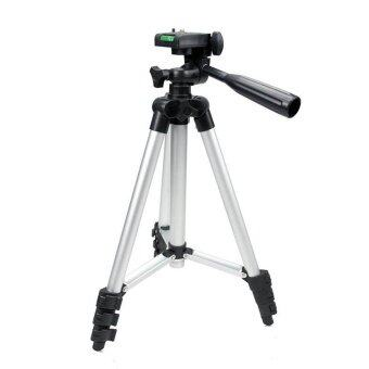 All Mate ขาตั้งกล้องช่วยในการถ่ายรูปขนาดพกพา (สีเงิน)