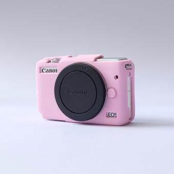 ซิลิโคน Canon M10 สีชมพู