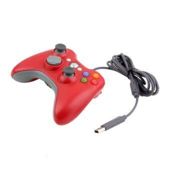 โอไม่ใช่แบบยูเอสบี Joypad เลอร์ควบคุมเกมไว้สำหรับ Microsoft Xbox และ Slim 360 พีซี Windows 7