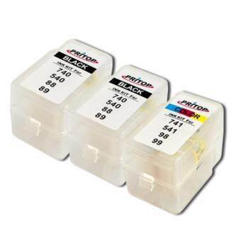 PRITOP Canon ink PG-88*2/CL-98*1 ใช้กับปริ้นเตอร์ Canon inkjet E500/E510/E600 Pritiop