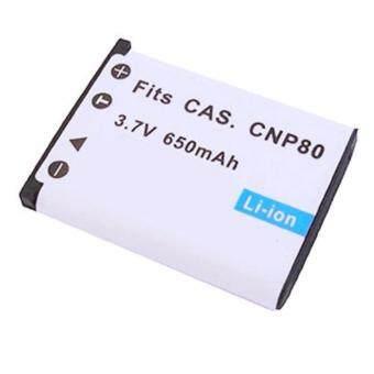 แบตกล้องคาสิโอ รหัสแบต NP-80 / NP-82 / CNP80 แบตเตอรี่กล้อง Casio Exilim Cameras ..