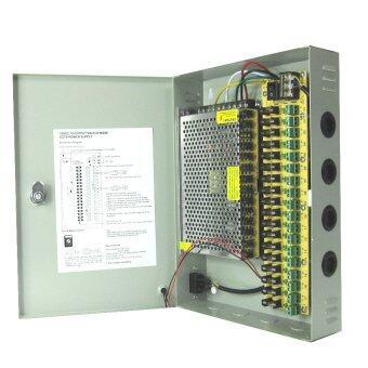 Marshal ตู้จ่ายไฟ DC12V 20A Switching Power Supply สำหรับกล้องวงจรปิด 10-18 ตัว