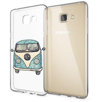 HugCase TPU เคส Samsung Galaxy A7 2016เคสโทรศัพท์พิมพ์ลาย Van เนื้อบาง 0.3 mm