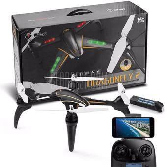 Drone ติดกล้องความละเอียดสูง WIFI ดูผ่านมือถือ พร้อมระบบถ่ายทอดสดแบบ Realtime(มีระบบ ล็อกความสูงได้ + แบตใช้ได้นาน)