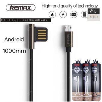 maoxin Remax RC-054i usb รอบเคเบิ้ลโลหะผสมสังกะสีการถ่ายโอนข้อมูลสายโทรศัพท์สายชาร์จสำหรับiphone 5/6/7 กับ Android samsung oppo Asus