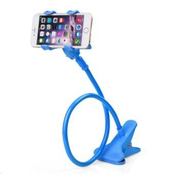 Phone Holder ขาจับมือถือ ที่หนีบสมาร์โฟน แท่นวางไอโฟน แบบหนีบ ฟ้า