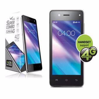 AIS LAVA 4G VoLTE 4.0 4GB(iris 560) (Black) ฟรีเคส+ฟิล์ม มูลค่า 299 บาท