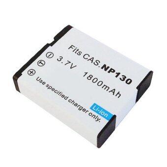 แบตกล้องรหัสแบต NP-130 / CNP130 แบตเตอรี่กล้องคาสิโอ Casio Exilim EX-100, EX-10, EX-ZR100, EX-ZR200, EX-H30 .. Battery for Casio
