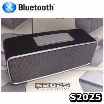 Center ลำโพงบลูทูธ Mini Bluetooth Soundlink รุ่น S2025 (สีดำ)