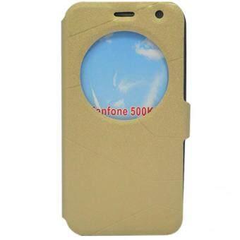 ASUS เคส Asus Zenfone Laser 6.0 sleep mode (ZE601KL) (สีทอง)
