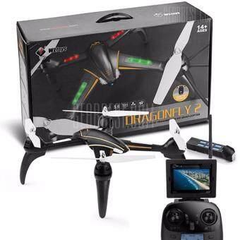 Drone ติดกล้องความละเอียดสูง รุ่น มีจอดูภาพ FPV พร้อมระบบถ่ายทอดสดแบบ Realtime(มีระบบ ล็อกความสูงได้ + แบตใช้ได้นาน)