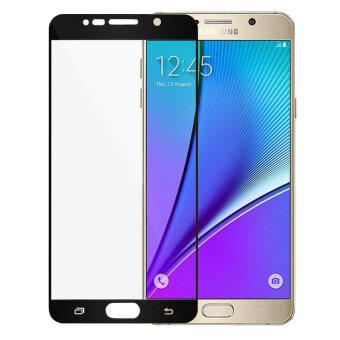 ครอบกันรอยหน้าจอแบบแก้วยามอารมณ์สำหรับ Samsung Galaxy Note 5 (สีดำ)