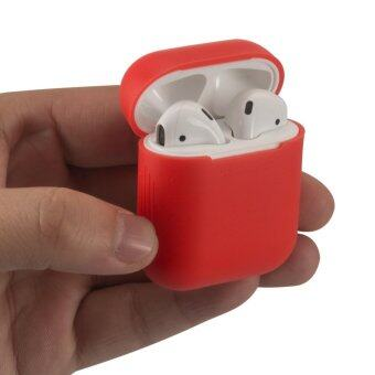 เคส AirPods Silicone Shock Proof Protective Cover (สี red)