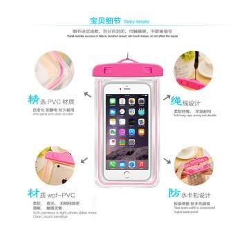ป้องกันโทรศัพท์ตกน้ำ ด้วยซองกันน้ำ ใส่โทรศัพท์มือถือ รุ่น F007 Mobilephone Waterproof Bag