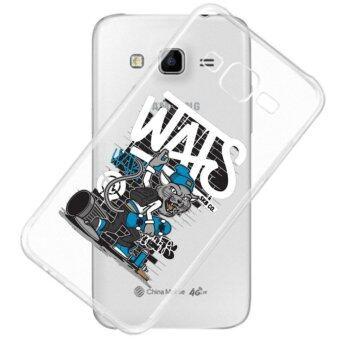 AFTERSHOCK TPU Case Samsung Galaxy J7 2015 (เคสใสพิมพ์ลาย Wolf) / Thin 0.33 mm