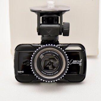 FHD กล้องติดรถยนต์ DECAR DVR-F8 Advanced Portable Car Camcorder