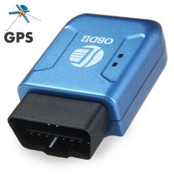 TK206 Car Vehicle OBDII Interface GPS GPRS Tracker with Vibration Alarm(BLUE)(Blue) - intl ราคาถูกที่สุด ส่งฟรีทั่วประเทศ